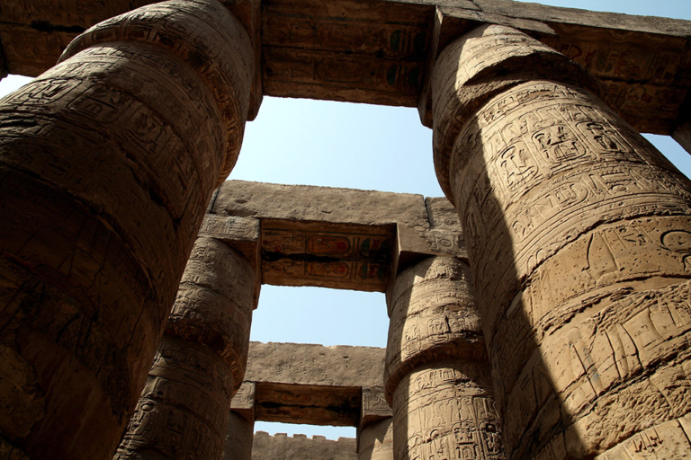 An ancient temple in Luxor. 4